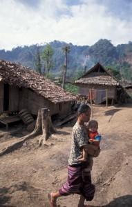 9480 THAILAND Mae La Burmese refugee camp, Mae Sot PHOTO: Sean Sprague