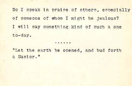 Do I speak in praise of others...