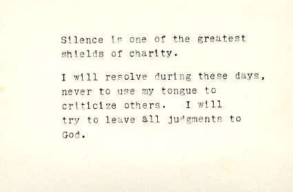 Silence is one of the greatest...