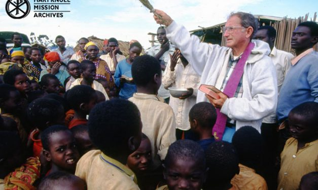 Moments of Mercy online exhibit <p> Home Is What God Wants – Fr. Daniel Ohmann, MM