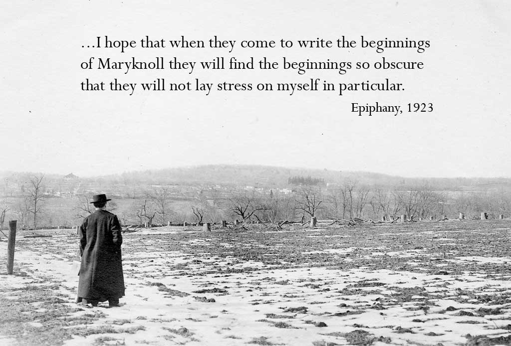 I hope then when they come to write the beginnings...