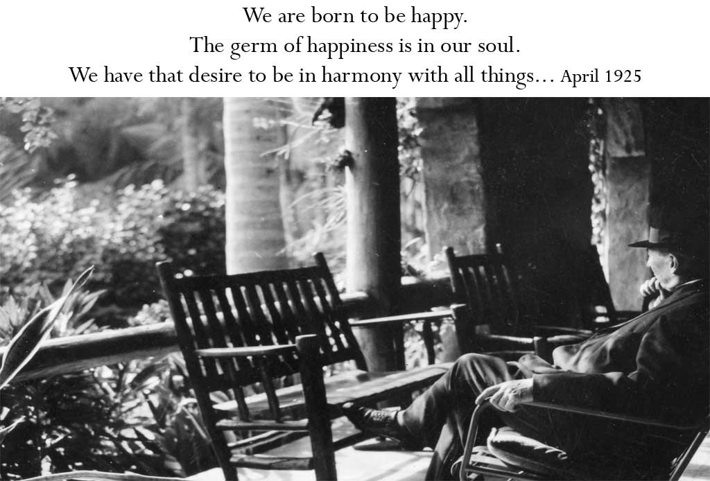 We are born to be happy...