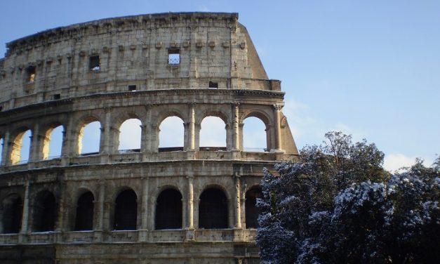 Winter Wonderland in Rome