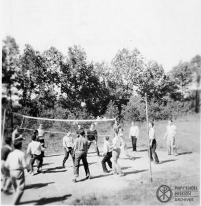 Society volleyball, 1945