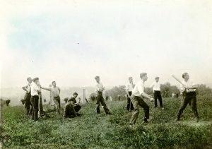 Society baseball, 1925
