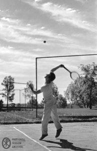 Society, tennis, 1940