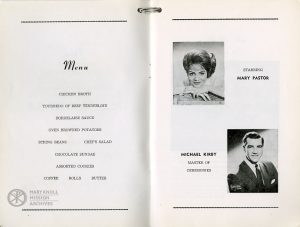 NIKA, Menu, 1964