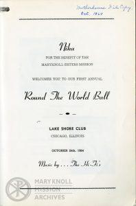 NIKA, Program, 1964