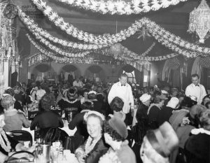 Sr Margaret James Reception, Ballroom, 1959