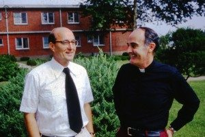 Fr. Ray Sullivan and Br. DePorres Stilp