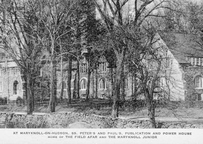 SS. Peter's and Paul's, Publication and Power House, Home of The Field Afar and the Maryknoll Junior. Known today as the Walsh Building
