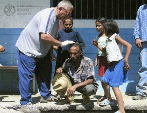 Lay missioner Erik Cambier in Venezuela, 2007