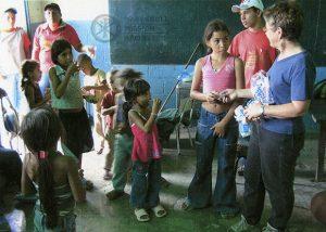 Lay missioner Margo Cambier in Venezuela, 2007