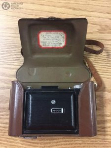Camera belonging to Fr. Anthony Cotta, known as Father Foto