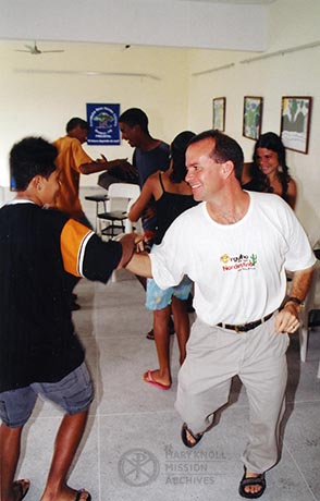 Lay Missioner Joseph Sandman in Brazil, 2004