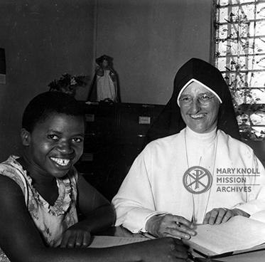 Sr. Dolores Marie Jansen MM in Morogoro, Tanzania
