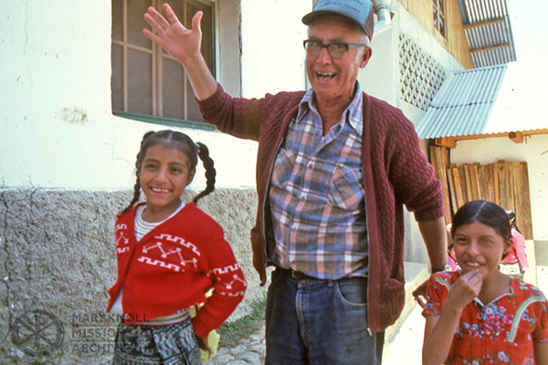 Brother Luke Baldwin in Bolivia