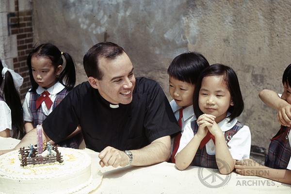 Fr. Huvane, Hong Kong