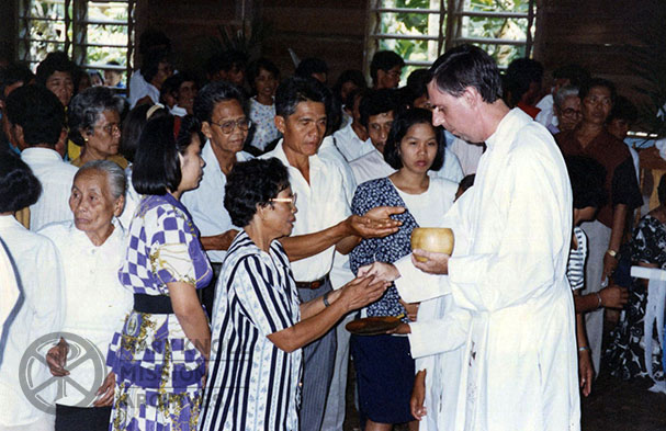 Fr. James McAuley in the Philippines