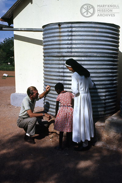 Brother Frank Norris in Kenya