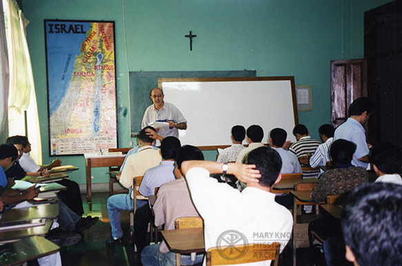 Fr. Persha, El Salvador