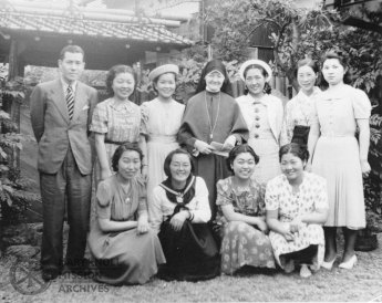 Sister Gemma Shea, Holy Family Convent, Tokyo, Japan, 1939