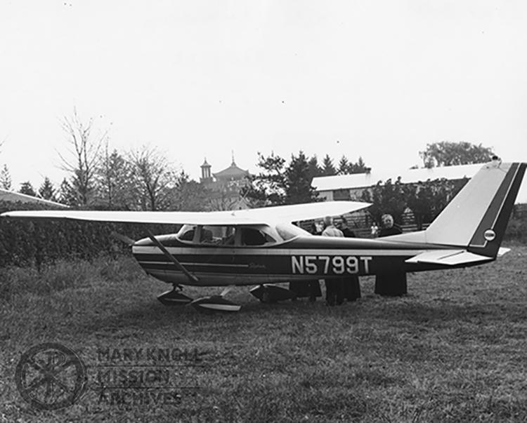 Airstrip at Maryknoll, circa 1965
