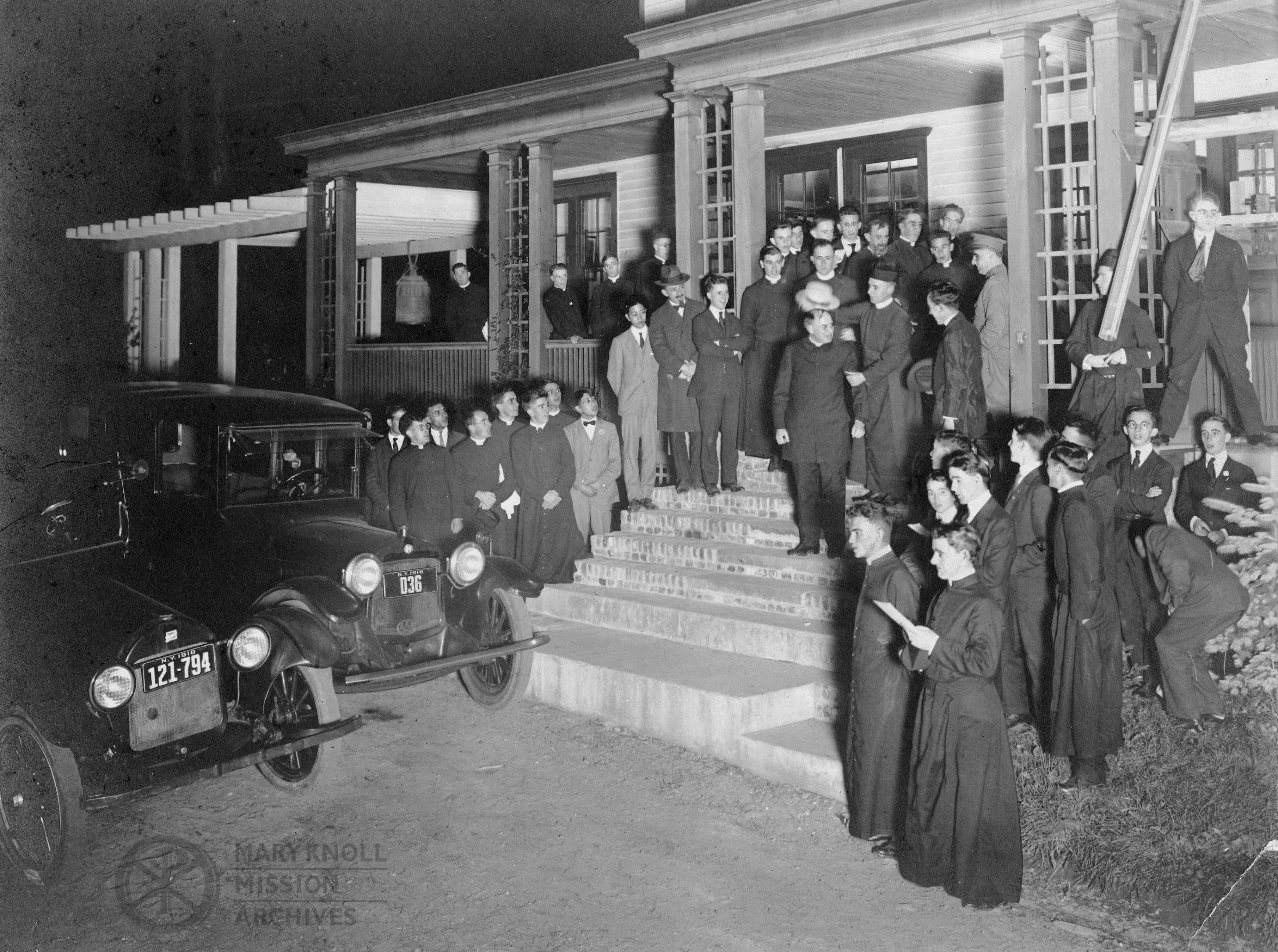 Departure, 1918 - Fr. Thomas F. Price