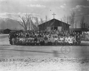 Confirmation at Manzanar Internment Camp, circa 1942