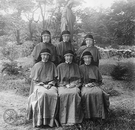 First six Maryknoll Sisters assigned to China