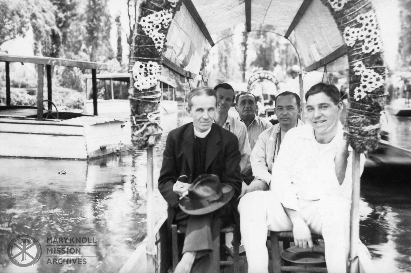 Bp. Walsh, Fr. Bonner, Fr. Danehy, Fr. Escalante, 1942