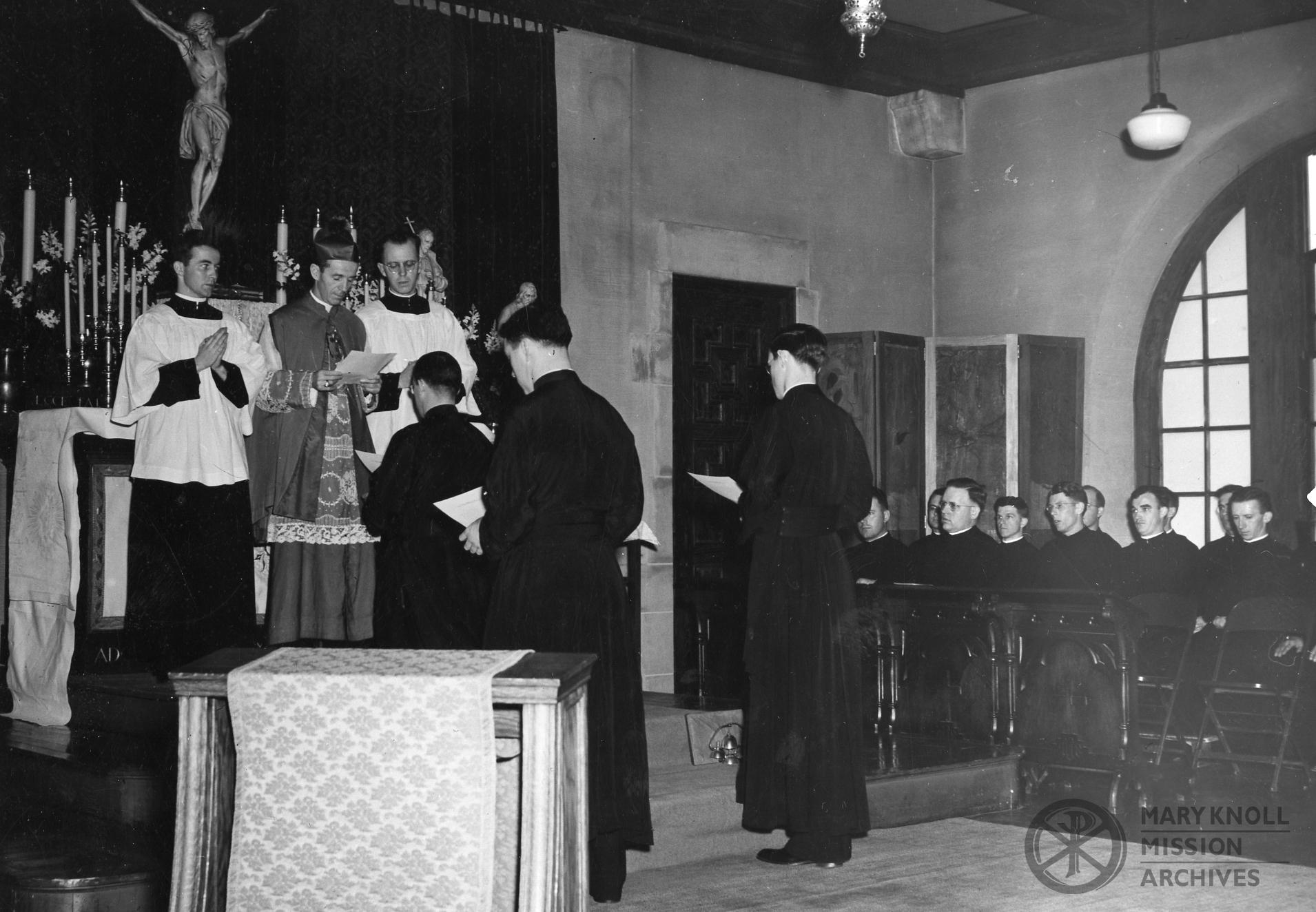 Departure Ceremony, April 1942