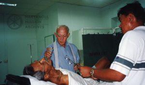 Fr. Walter Maxcy, hospital chaplain, Davao