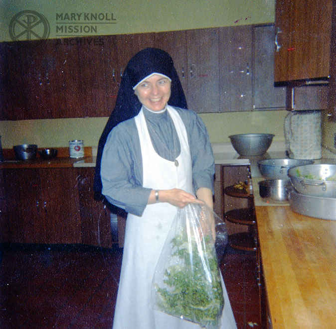 Sister Mary at Ladycrest Novitiate