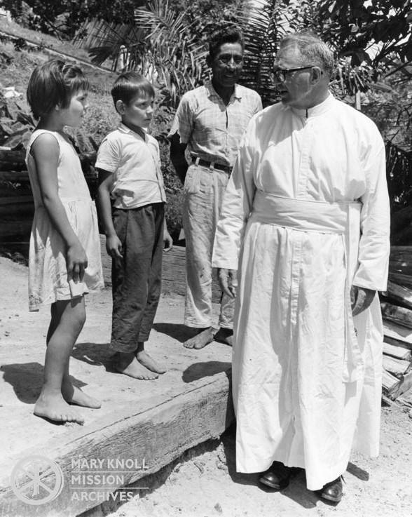Father Thomas P. Collins, Bolivia