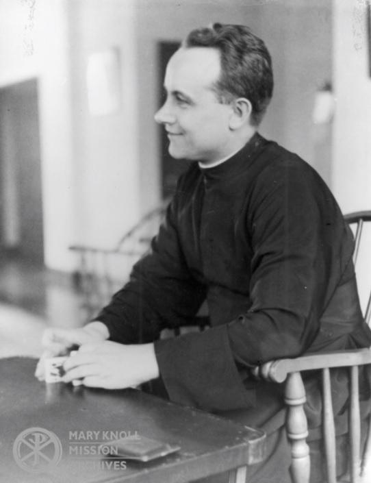 Fr. John Considine during his Procurator days