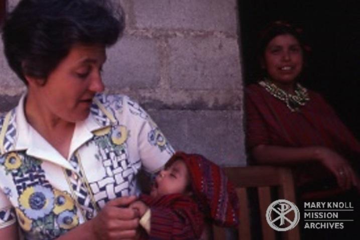 Sr. Bernice Kita in Guatemala