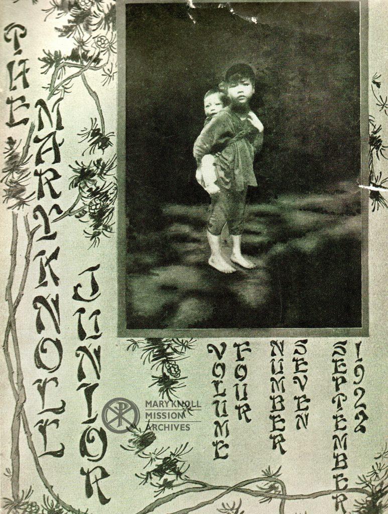 Maryknoll Junior, September 1922