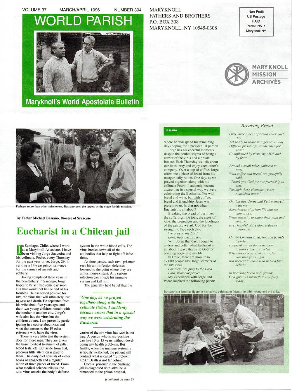 World Parish, March/April 1996