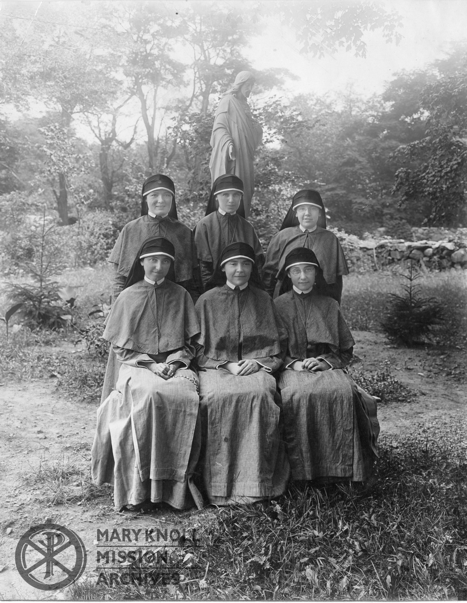 First six Sisters sent to China, 1921