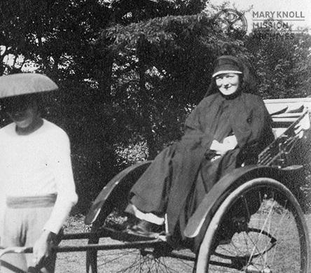 Sister Imelda Sheridan, En route to China, 1921