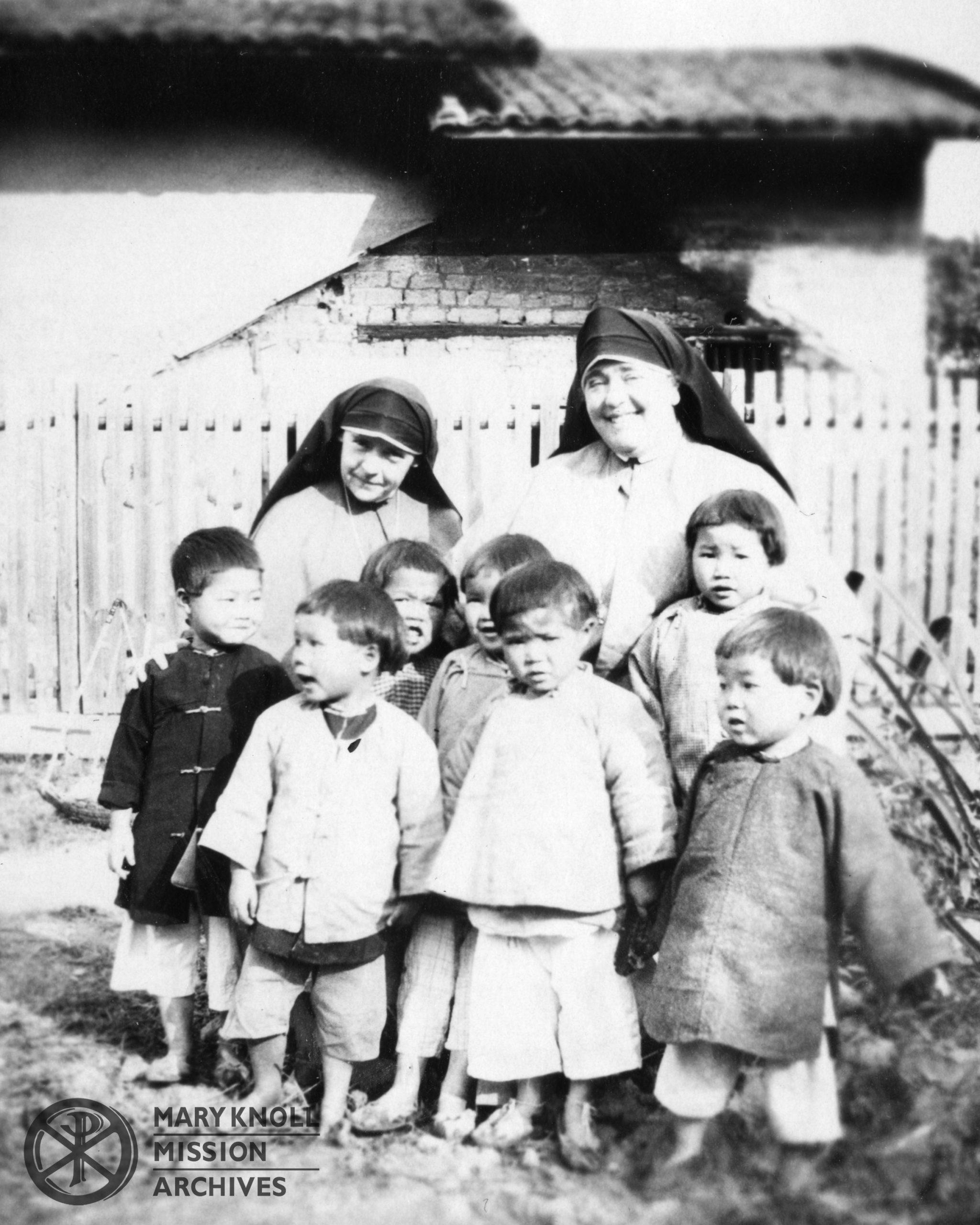 Sister Mary Paul McKenna with Mother Mary Joseph, Kongmoon