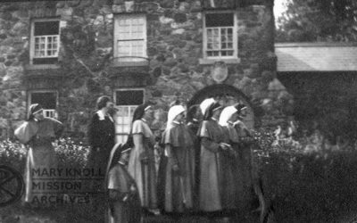 A Century Ago – 100th Anniversary of Maryknoll Sisters' First Departure for China